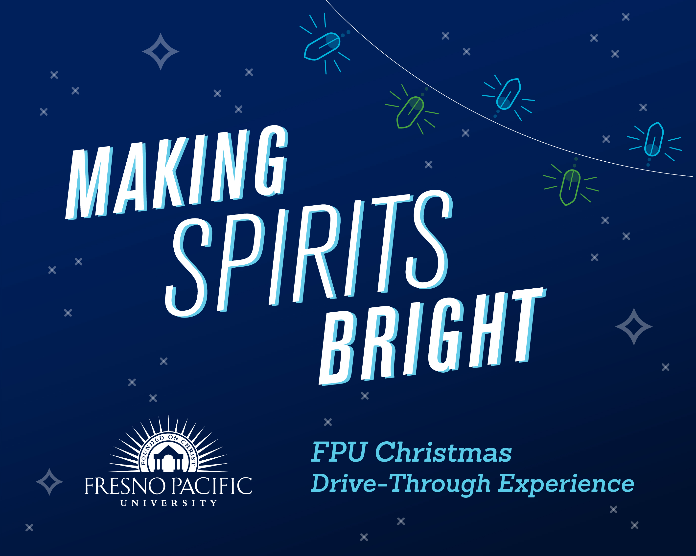 Christmas Lights Drive-Thru @ Fresno Pacific University | Fresno | California | United States