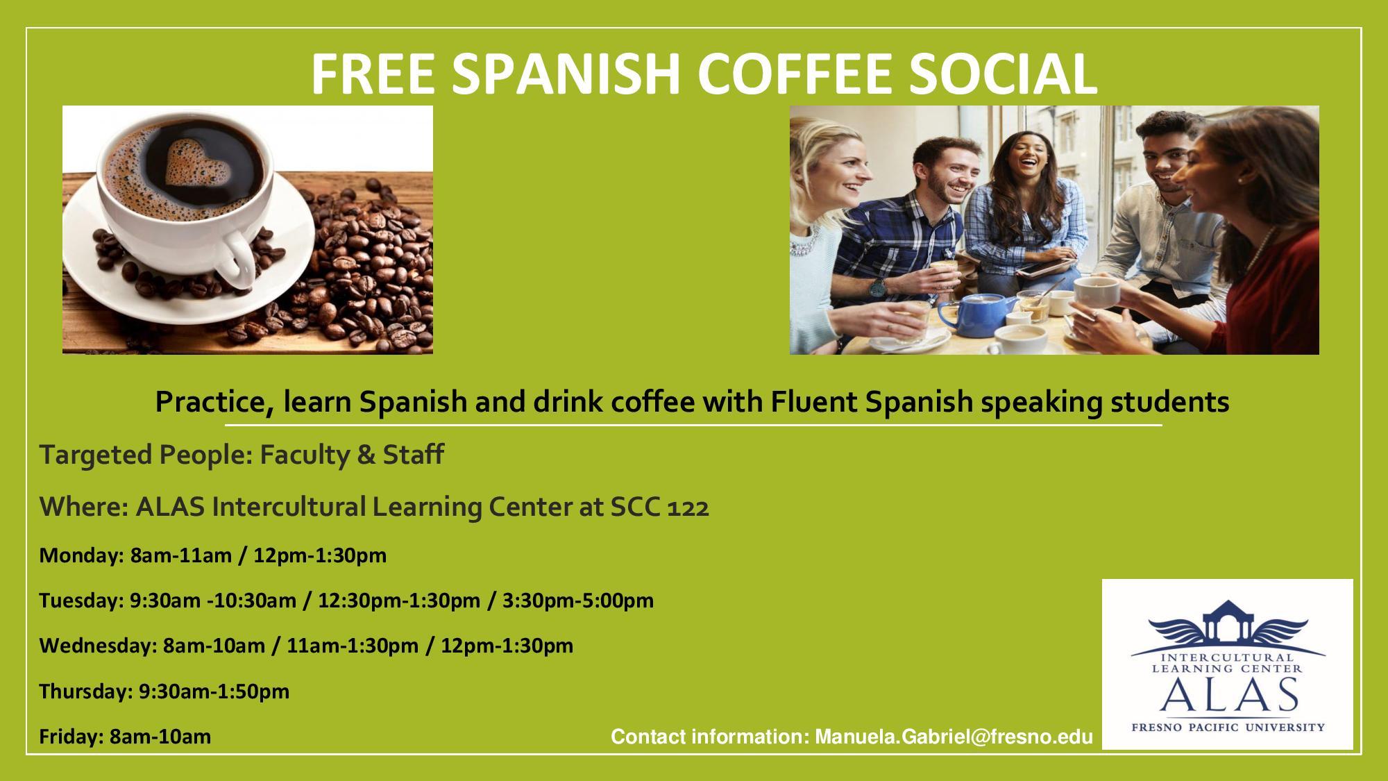 spanish social coffee | squawk box