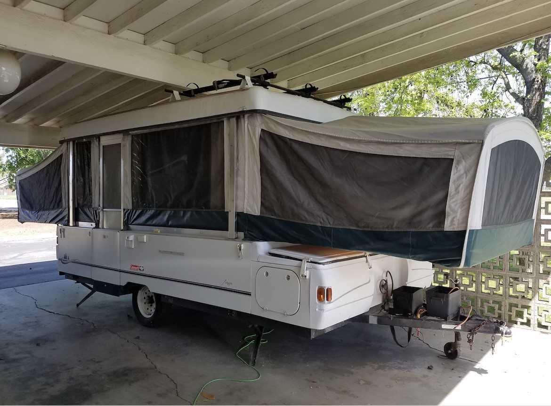 2002 Coleman Mesa Tent Trailer for Sale | Squawk Box